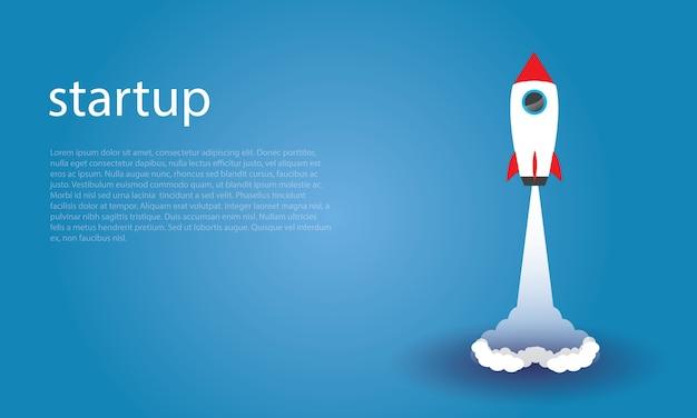 Business-startup-konzept. vektor-illustration