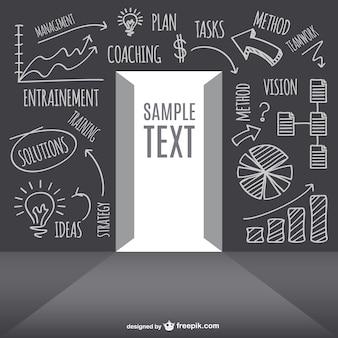 Business-strategie-konzept-design