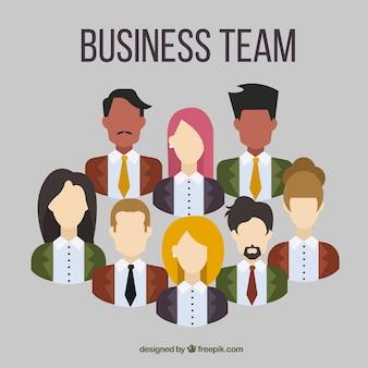 Business-team sammlung