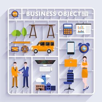 Business-tools-kit-vektor