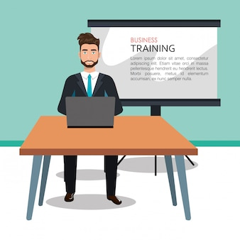Business training design