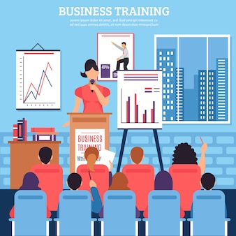 Business training vorlage