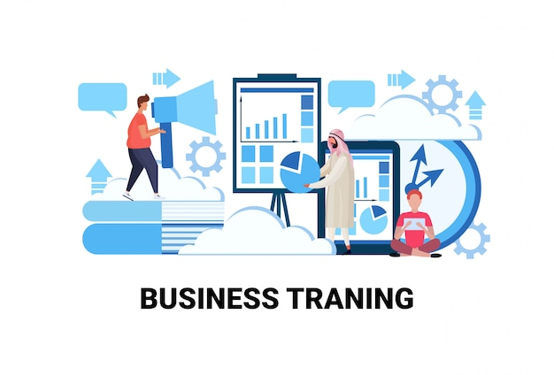 Business-trainingskonzept