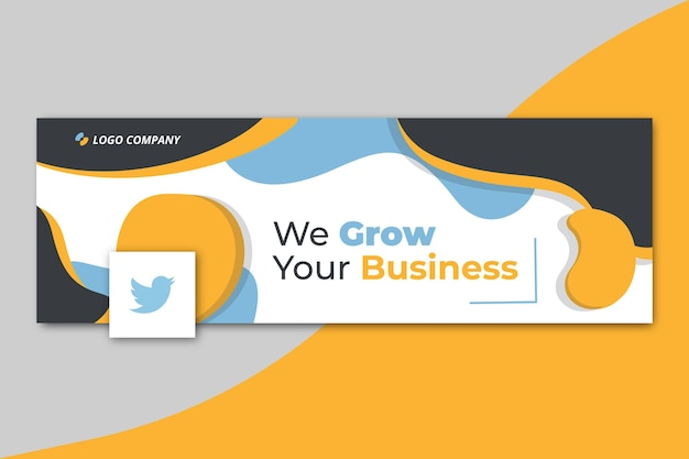 Business twitter cover vorlage