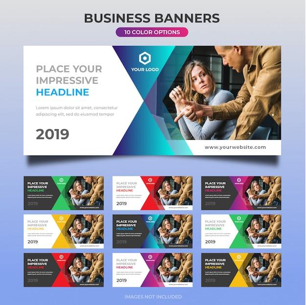 Business web banner design 11