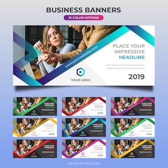 Business web banner design 14