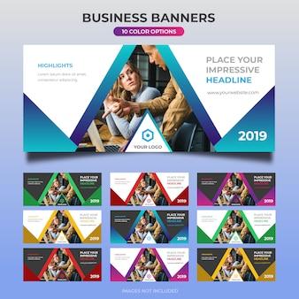 Business web banner design 24