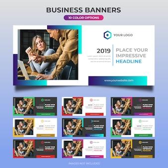Business web banner design 25