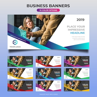Business web banner design 28