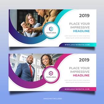 Business web banner design 30