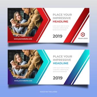 Business web banner design 32