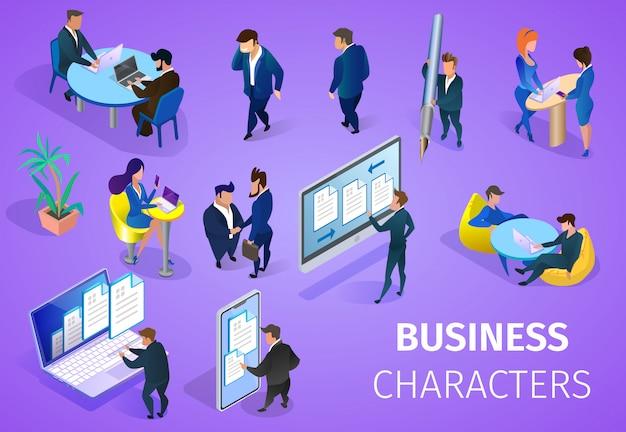 Business-zeichensatz