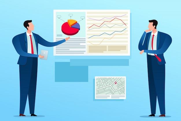 Businessplan-präsentation