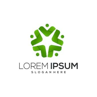 Bussiness green-logo-design
