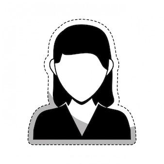 Bussiness person symbolbild