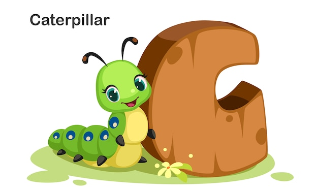 C für caterpillar