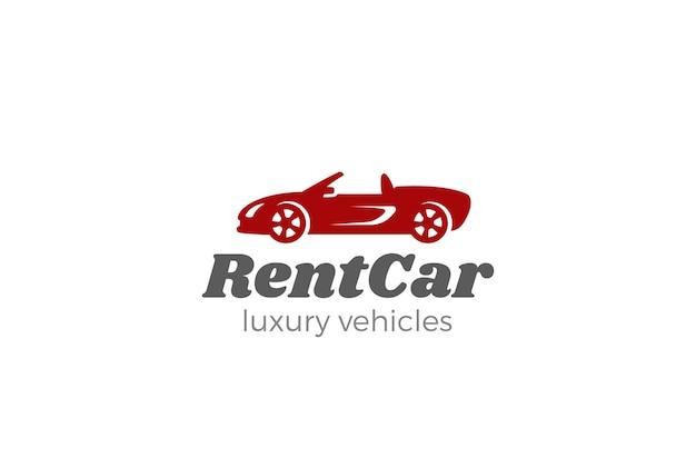 Cabriolet auto logo.