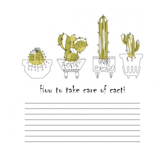 Cacti page-pflegeanleitung