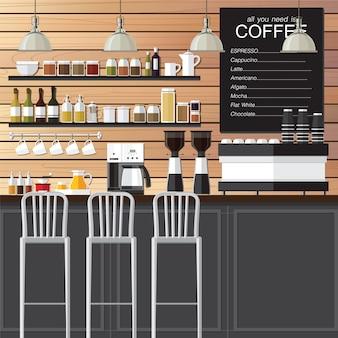 Café design loft