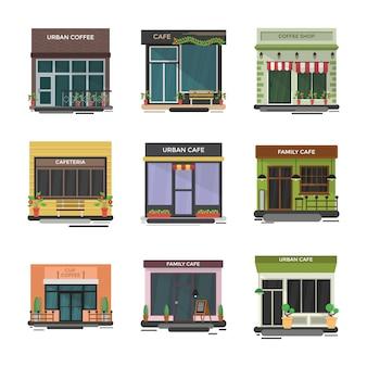 Cafe pack illustrationen