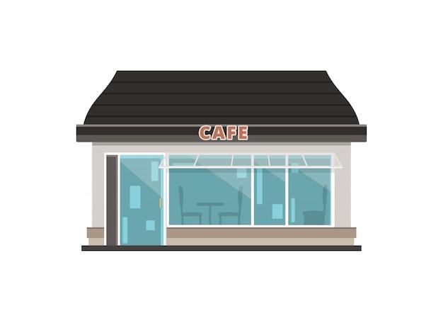 Cafe shop gebäude