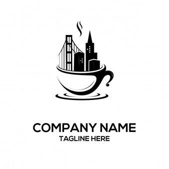 Cafe und stadtdesign