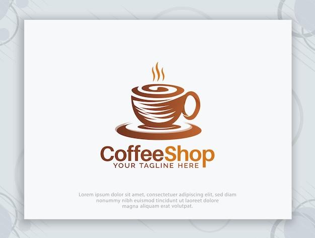 Café-vektor-logo-design