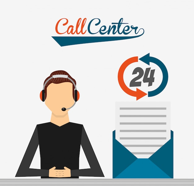 Call-center-abbildung