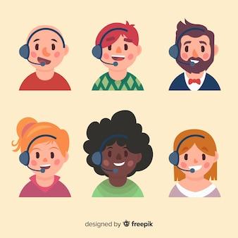 Call-center-avatar-beispiel