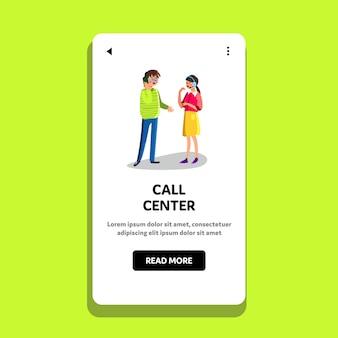 Call center-unterstützung oder beratung