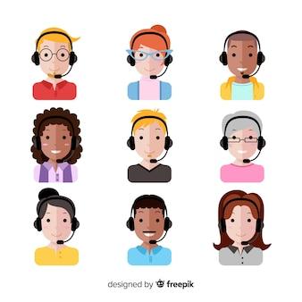 Callcenter-avatar-paket