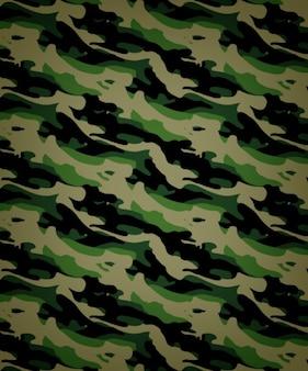 Camouflage nahtlose vektor-muster