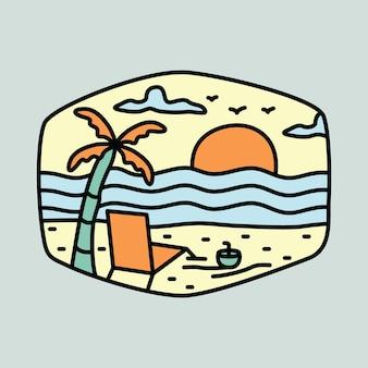 Camping abenteuer und schönheit sommer grafische illustration vektorgrafiken t-shirt design