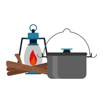 Camping-lifestyle-ausrüstung