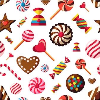 Candy muster hintergrund
