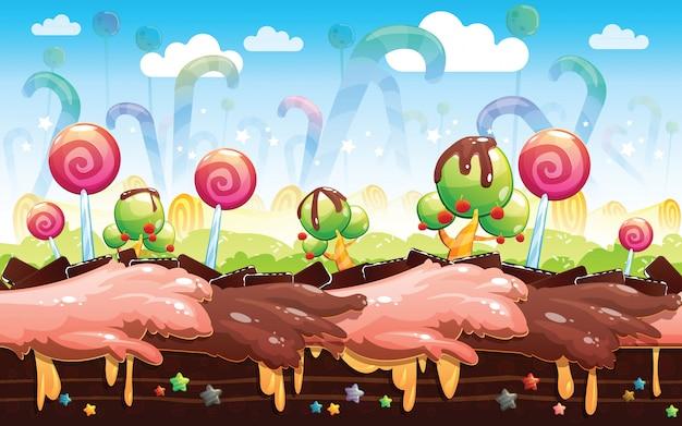Candyland hintergrund