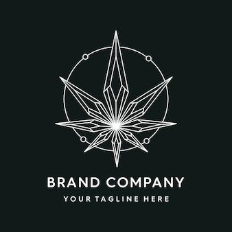 Cannabis geometrisch
