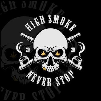 Cannabis mit hohem rauchgehalt