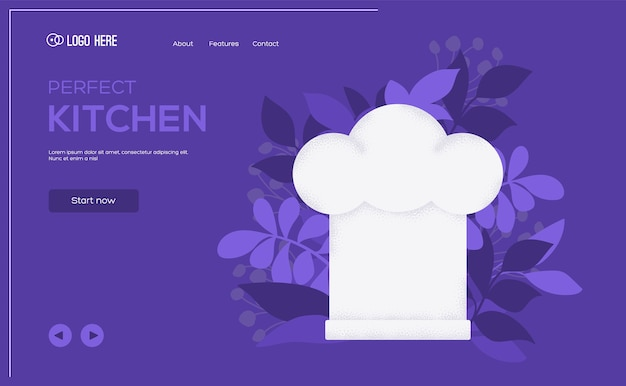 Cap konzept flyer, web-banner, ui-header, website eingeben ..