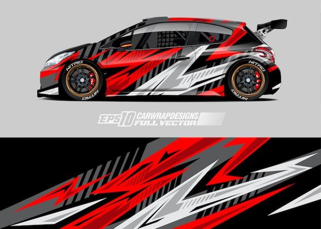 Car wrap aufkleber designs