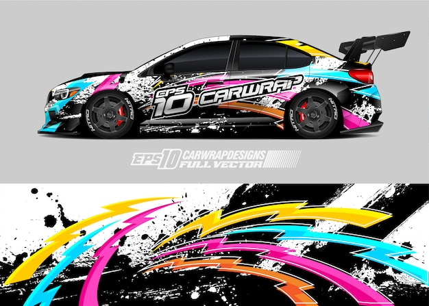Car wrap aufkleber designs