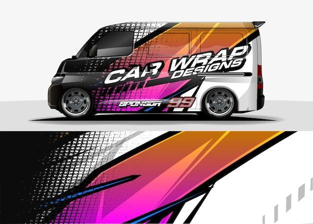Car wrap design für fahrzeug vinyl aufkleber