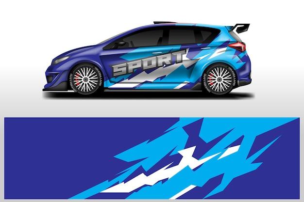 Car wrap designs vektor hintergrundgrafikdatei druckfertig und bearbeitbar eps 10