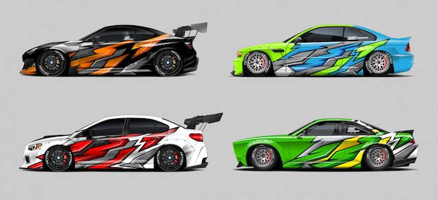 Car wrap designs