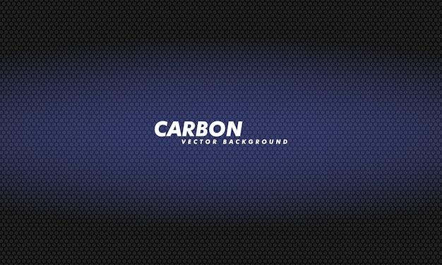Carboon hintergrund mit sechsecken