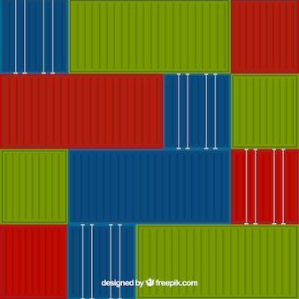 Cargo container hintergrund