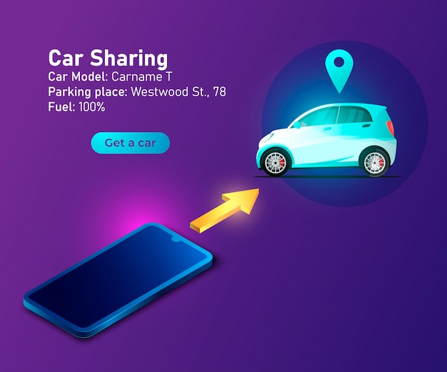 Carsharing-service-banner
