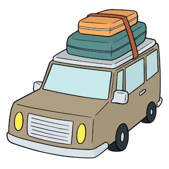 Cartoon auto