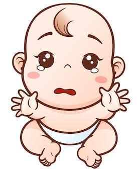 Cartoon baby weinen