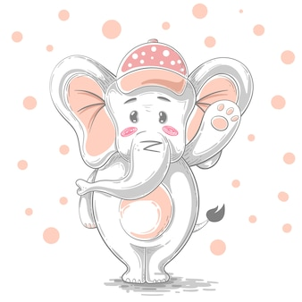 Cartoon elefant